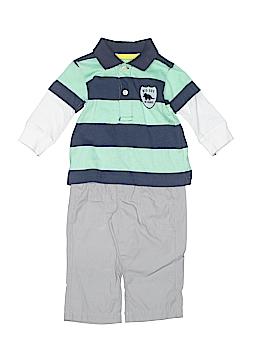 Carter's Long Sleeve Polo Size 3 mo
