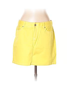 Cache Denim Skirt Size 12