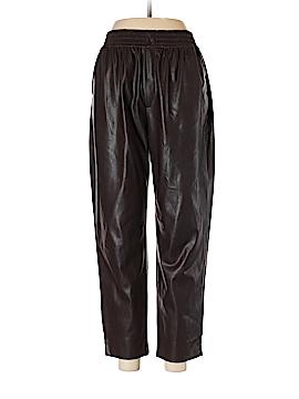Zara Faux Leather Pants Size M