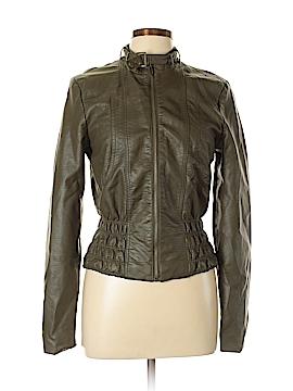 Neu Look Faux Leather Jacket Size L