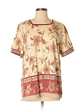 Alfred Dunner Short Sleeve T-Shirt Size L