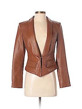 Blanc Noir Leather Jacket Size XS