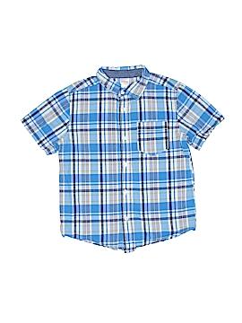 Gymboree Outlet Short Sleeve Button-Down Shirt Size 5 - 6