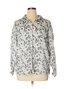 Charter Club Long Sleeve Button-Down Shirt Size XL