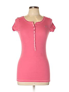 Hollister Short Sleeve Henley Size L