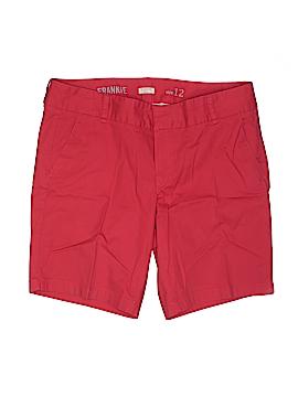 J. Crew Khaki Shorts Size 12