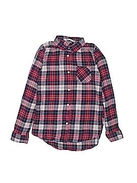 H&M Long Sleeve Button-Down Shirt Size 10