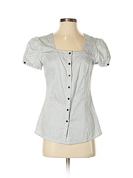 Como Short Sleeve Button-Down Shirt Size S