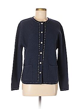 Karen Scott Wool Cardigan Size M