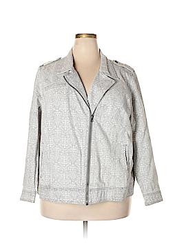 Ruff Hewn Denim Jacket Size 3X (Plus)