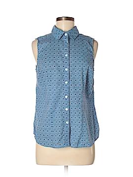 Croft & Barrow Sleeveless Button-Down Shirt Size M (Petite)