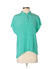 Trouve Women Short Sleeve Blouse Size S