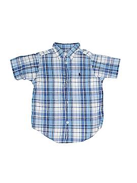 Ralph Lauren Short Sleeve Button-Down Shirt Size 3T - 3