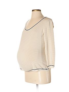 Mimi Maternity Silk Pullover Sweater Size S (Maternity)