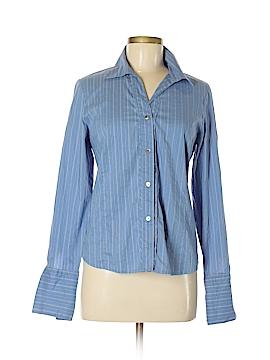 Rafaella Long Sleeve Button-Down Shirt Size 6