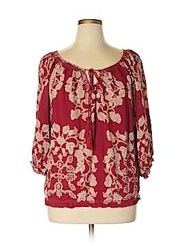 Nurture 3/4 Sleeve Blouse Size XL