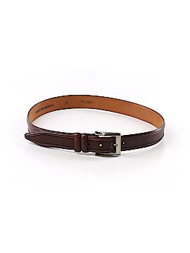 Johnston & Murphy Leather Belt 34 Waist