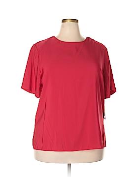 Notations Short Sleeve Blouse Size 1X (Plus)