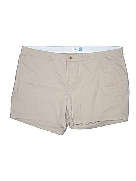 Old Navy Khaki Shorts Size 26 (Plus)