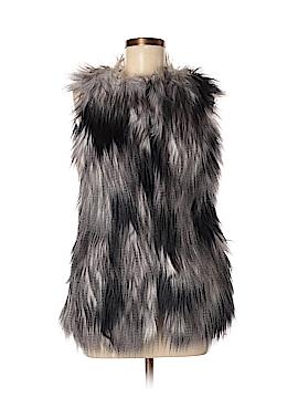 Steve Madden Faux Fur Vest Size XS