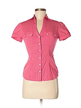 Express Design Studio Short Sleeve Button-Down Shirt Size XS