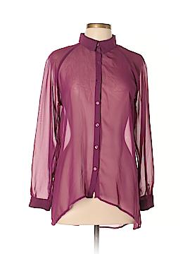 LC Lauren Conrad Long Sleeve Blouse Size L
