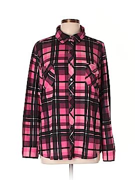 D&Co. Long Sleeve Button-Down Shirt Size L