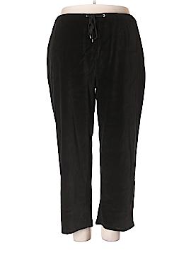 Charter Club Velour Pants Size 3X (Plus)