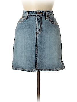 L.e.i. Denim Skirt Size 7