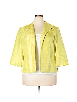 Coldwater Creek Silk Blazer Size XL
