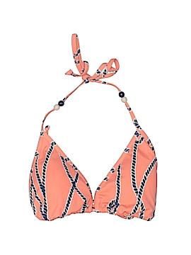Black Poppy Swimsuit Top Size XL