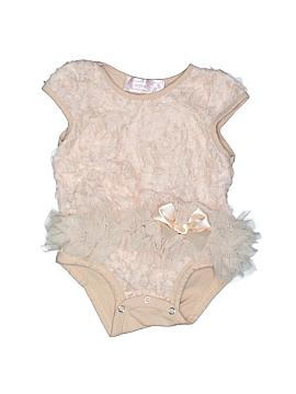 Popatu Short Sleeve Onesie Size 6-9 mo