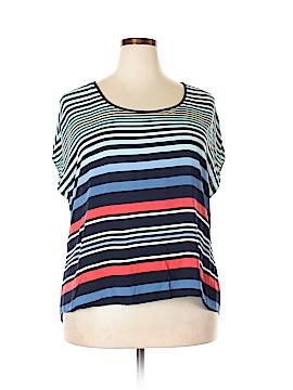 Torrid Short Sleeve Blouse Size 1X Plus (1) (Plus)
