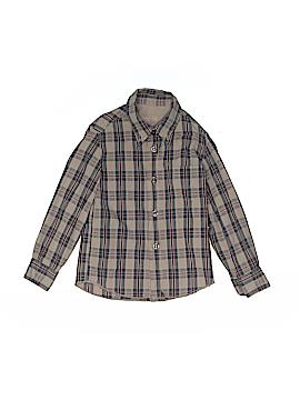 Eddie Pen Long Sleeve Button-Down Shirt Size 2T