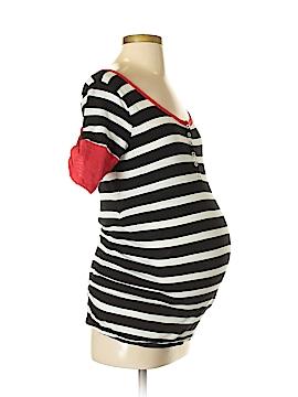 Planet Motherhood Short Sleeve Henley Size M (Maternity)