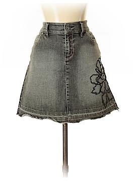 White House Black Market Denim Skirt Size 4