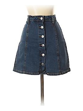 Hot Kiss Denim Skirt Size M