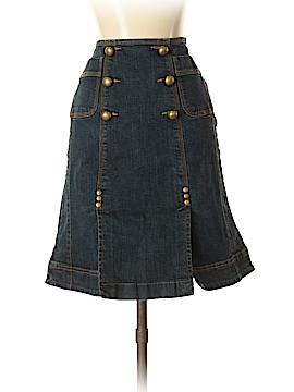 INC International Concepts Denim Skirt Size 2
