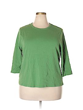 Herman Geist 3/4 Sleeve T-Shirt Size 3X (Plus)