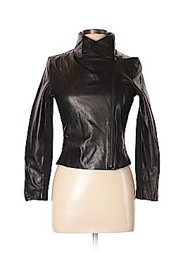 Vince. Leather Jacket Size XL
