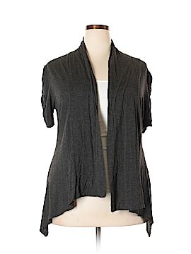 Ambiance Apparel Cardigan Size 1X (Plus)