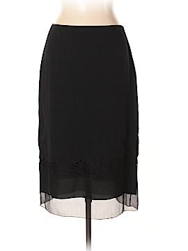 Tahari Silk Skirt Size 14