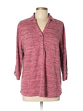 Laura Scott 3/4 Sleeve Henley Size XL