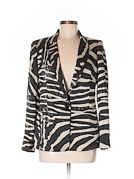 Zara Basic Silk Blazer Size M