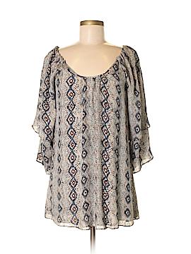 Parker 3/4 Sleeve Silk Top Size XS
