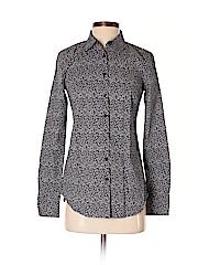 Ann Taylor Women Long Sleeve Button-Down Shirt Size 0