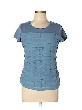 Ann Taylor Factory Short Sleeve Top Size L (Petite)