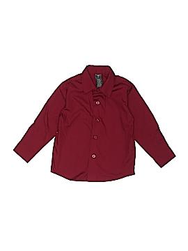 Dockers Long Sleeve Button-Down Shirt Size 3T