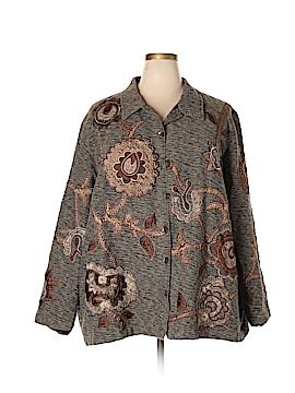 Maggie Barnes Silk Blazer Size 20 (4) (Plus)