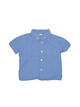 B.T. Kids Short Sleeve Button-Down Shirt Size 18 mo